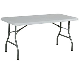 banquet conference folding table, rectangle, indoor, folding