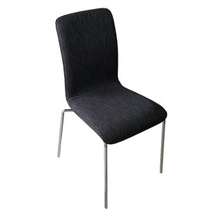 Bella chrome chair, commercial chair