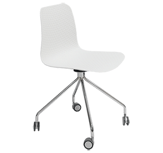Carpone Chair - Castors