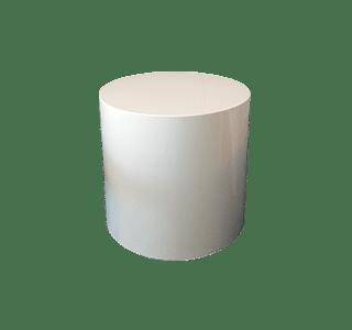 tara ottoman 4556 , coffee table, drinks table, white, simple, painted