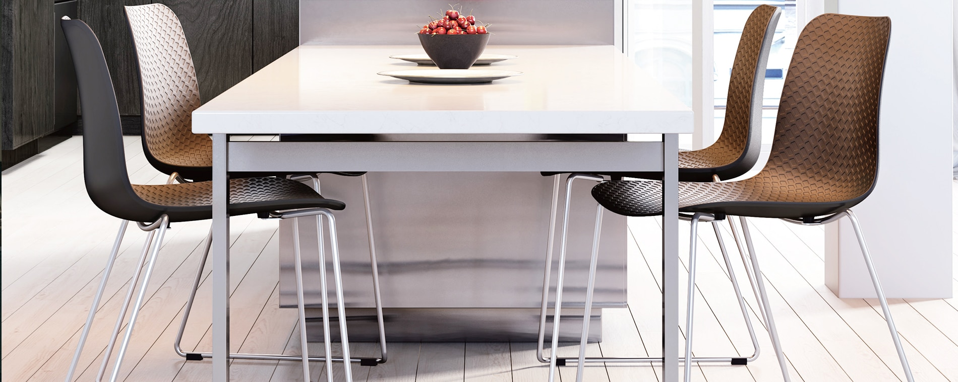 Carpone chair is a stylish addition to your cafe furniture