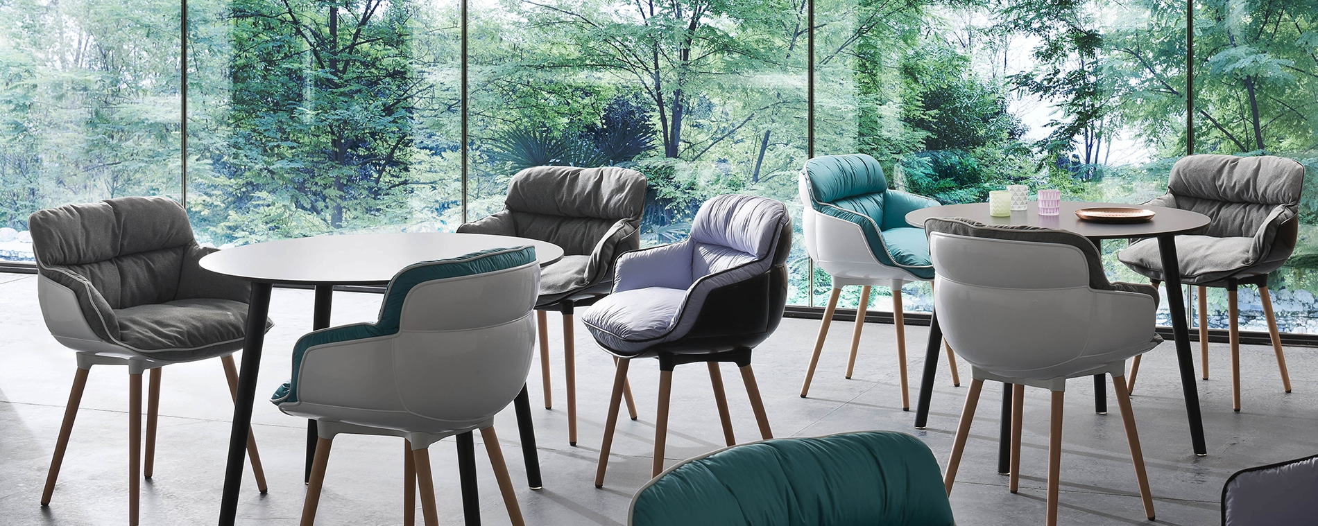 Choppy Chairs are a very comfortable addition to your other hospitality furniture