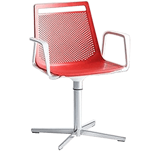 Akami Chair with arms cross base