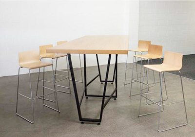 Bar Stools and Tables NZ | Bonn Bar Stool Sled