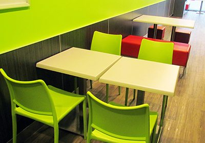 Restaurant Chairs and Tables | Box Stool