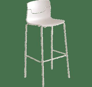 Bar Stools | Slot Stool with chrome legs