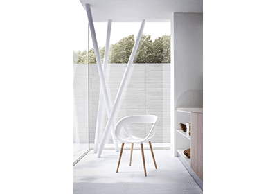Moema Chair | Wooden Legs