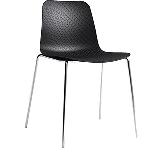 Carpone 4L, chair, modern, patterns, modern, dining, cafe, restaurant, bars, simplistic