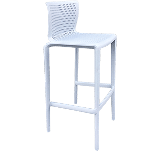 Spyker Stool | Blue Outdoor Stool NZ