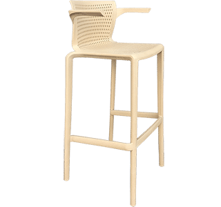 Spyker Stool with arms | Hospitality NZ