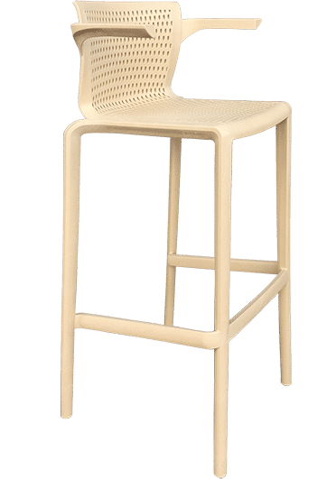 Spyker Stool with Arms | Outdoor Barstools