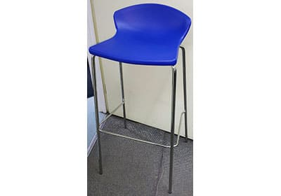 Easy Stool | Blue Color barstool