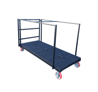 Banquet-Trolley-for-Rectangle folding table