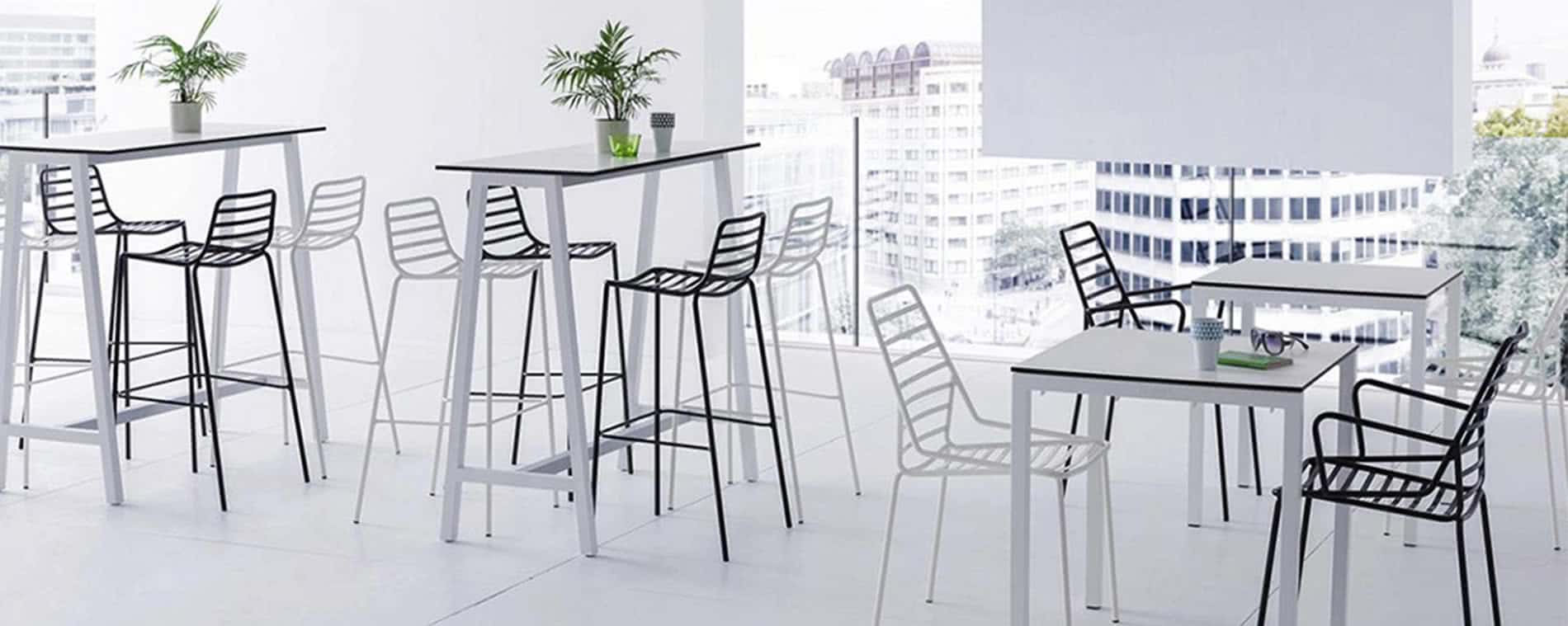 Link outdoor chairs for your restaurant or cafe