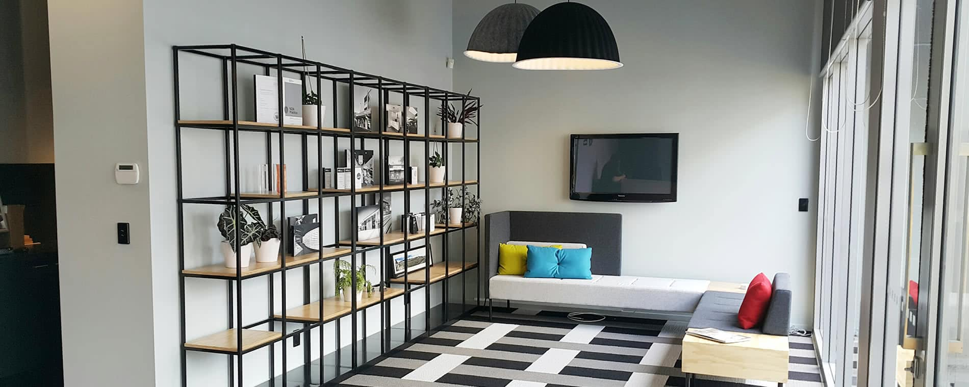 Unique and modern shelving