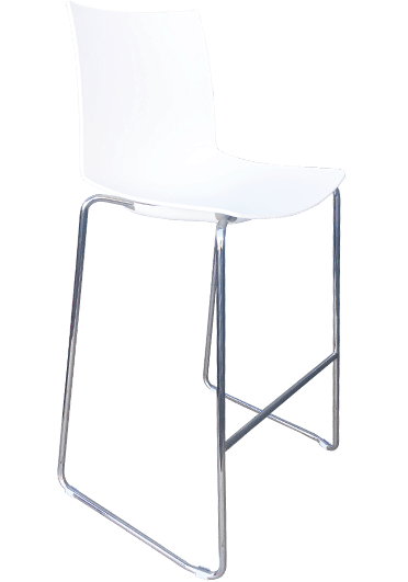 Kanvas Stool white | Cafe and restaurant furniture NZ