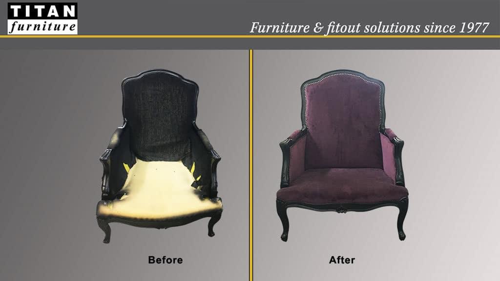 Furniture Refurbishment | Reupholstery