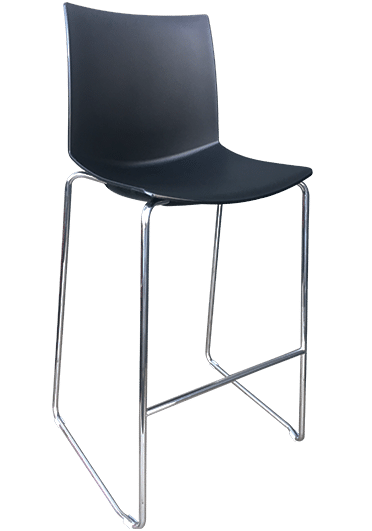 Kanvas Stool black | commercial furniture nz