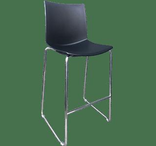 Kanvas Stool Black | cafe stool