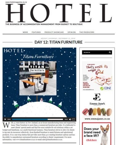 Day12 website 377x470 - Custom made Furniture Featured in Hotel Magazine