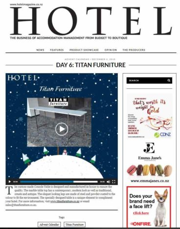 Hotel Magazine day 6 resized 368x470 - Featured in Hotel Magazine