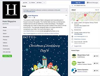 facebook ad advent calendar day6 resized - Featured in Hotel Magazine