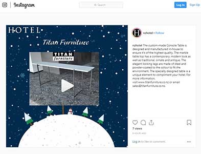 instagram ad advent calendar day6 resized - Featured in Hotel Magazine